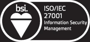 Ebicus is ISO/IEC 27001 certified