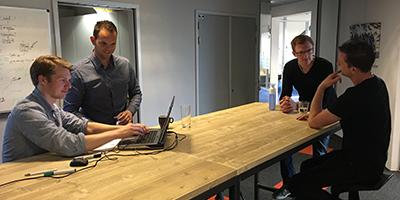 Werken bij Ebicus in een jong team in een inspirerende omgeving