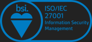 We are ISO 27001 certified
