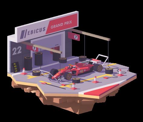 Business Case: De perfecte pitstop